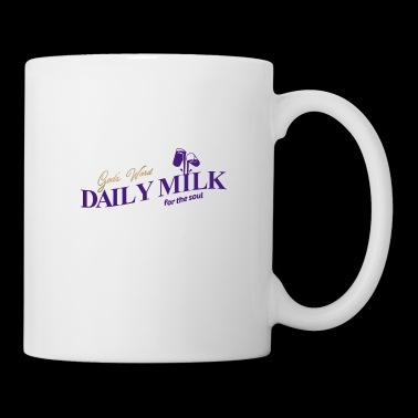 Daily Milk Christian T Shirt color in white - Coffee/Tea Mug