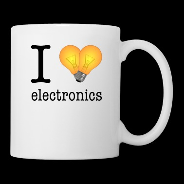 I love Electronics / Gift Idea - Coffee/Tea Mug