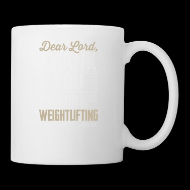 Weightlifting dear - Coffee/Tea Mug