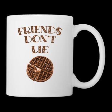 Friends Don't Lie Chocolate Waffle Funny Novelty - Coffee/Tea Mug