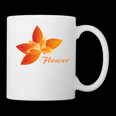 Orange Flower - Coffee/Tea Mug