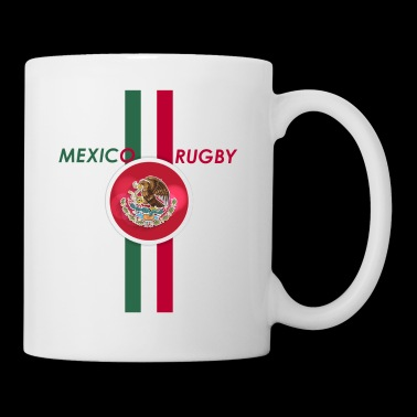 mexico rugby flag design - Coffee/Tea Mug