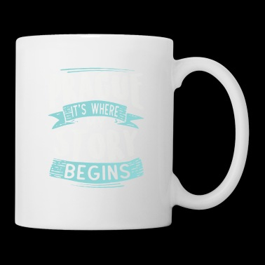Prag it´s where my story begins - Coffee/Tea Mug