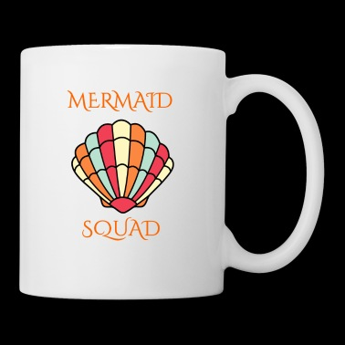 mermaid shell squad - Coffee/Tea Mug