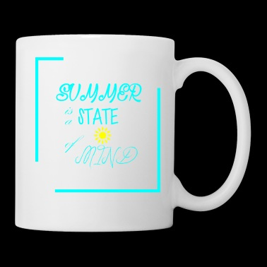 First day of summer is a state of mind - Coffee/Tea Mug