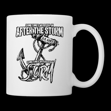 US Navy Sea Storm American Sailor Gift - Coffee/Tea Mug