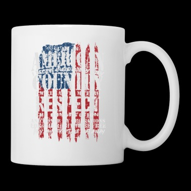 American Patriot Country Respect US Flag Gift Idea - Coffee/Tea Mug