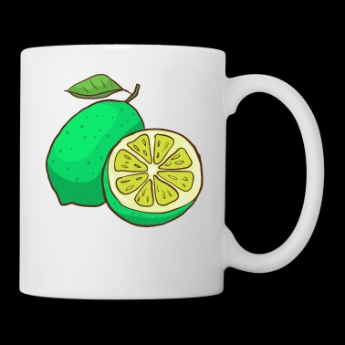 Green Lime Citrus - Coffee/Tea Mug