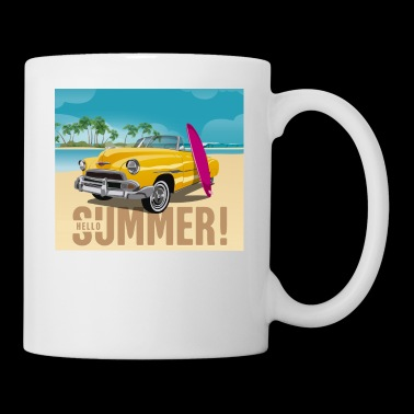 Surfing Tee Shirt Gift for men and women - Coffee/Tea Mug