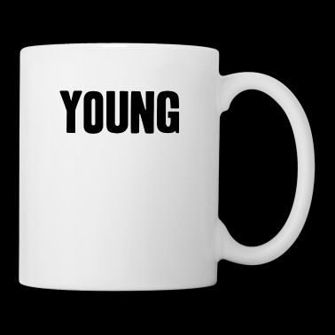 young shirt life-loving fun gift idea - Coffee/Tea Mug