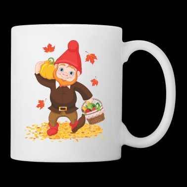 Thanksgiving Garden Gnome - Coffee/Tea Mug