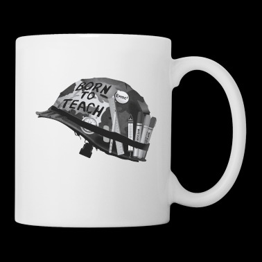 Born to teach science B&W - Coffee/Tea Mug
