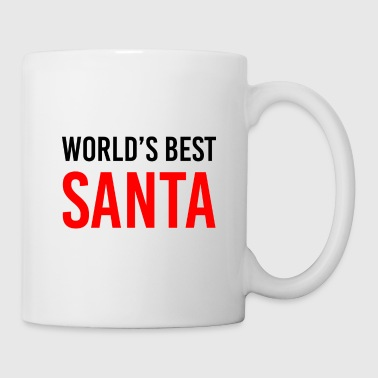 World's Best Santa Mug - Coffee/Tea Mug