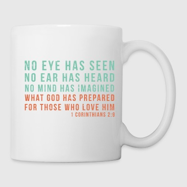 1 Corinthians 2:9 - Coffee/Tea Mug