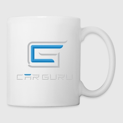 Car Guru - Stacked Icon (Light) - Coffee/Tea Mug
