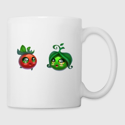 Tomato and peas - Coffee/Tea Mug