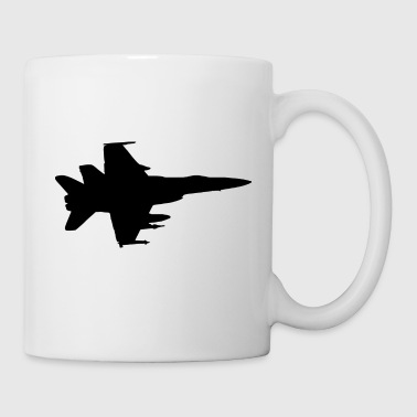 Airplane Fighter Jet Pilot Gift Idea - Coffee/Tea Mug