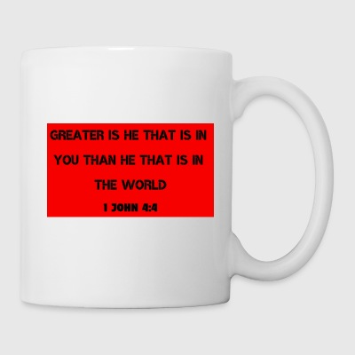 God is Greater than anything in this world - Coffee/Tea Mug
