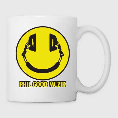PHIL GOOD MUZIK HAPPY HEADPHONES - Coffee/Tea Mug