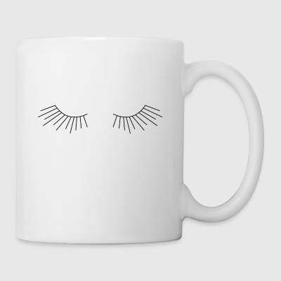 lashes by yanamiller - Coffee/Tea Mug