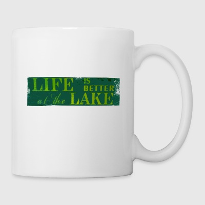Life is better at the lake - Coffee/Tea Mug