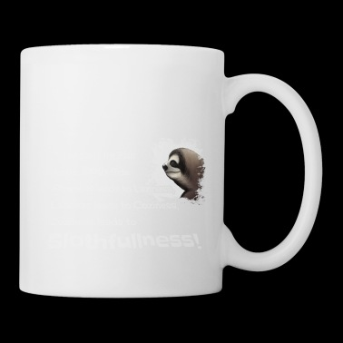 Wisdom of Science Fiction Space Sloth Master Gift - Coffee/Tea Mug