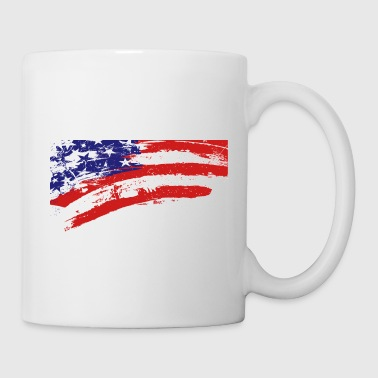 America flag - Coffee/Tea Mug