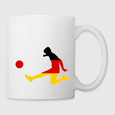 Germany Soccer Player - Coffee/Tea Mug