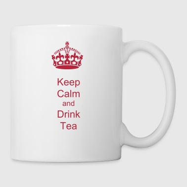 Keep Calm  crown vector - Coffee/Tea Mug