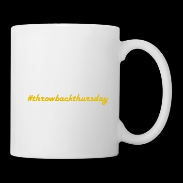 #throwbackthursday - Coffee/Tea Mug