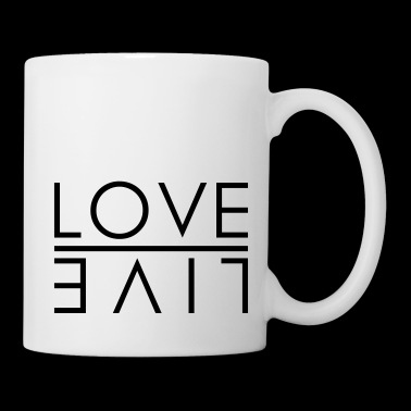 LOVE - LIVE - Coffee/Tea Mug