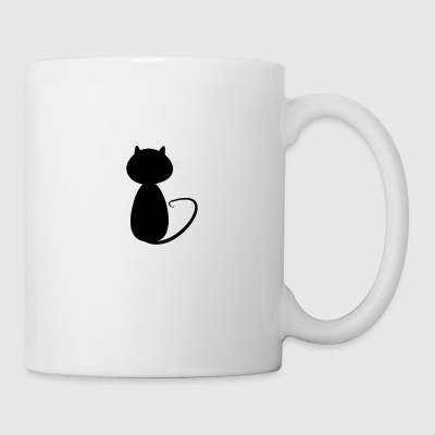 Small cat shadow - Coffee/Tea Mug