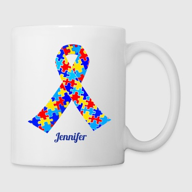 Autism Awareness Ribbon - Coffee/Tea Mug