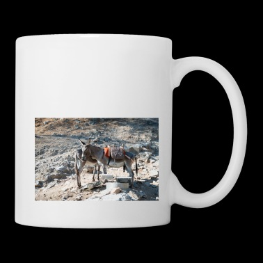 Donkey Lindos Greece II - Coffee/Tea Mug