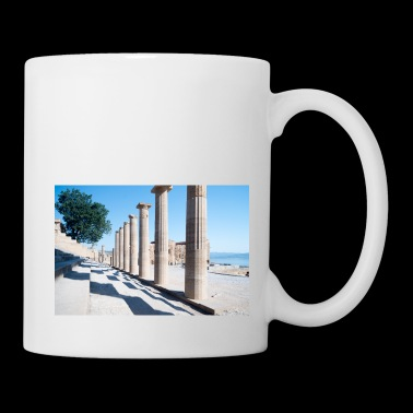 Ruins of Lindos Greece - Coffee/Tea Mug