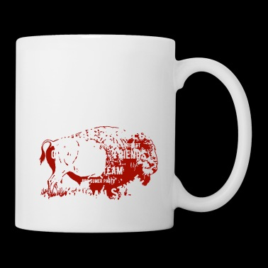 GRILL SHIRT AMERICAN BBQ - Coffee/Tea Mug