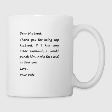 Punch my husband - Coffee/Tea Mug