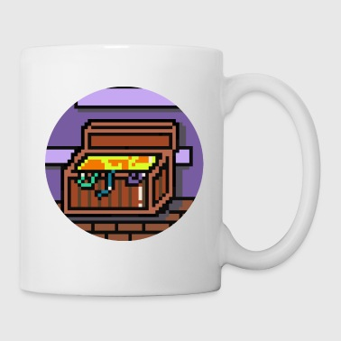 Pixel Treasure Chest - Coffee/Tea Mug