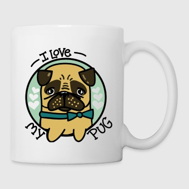 I Love My Pug - Coffee/Tea Mug