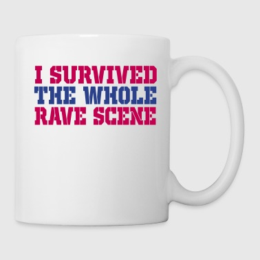 i rave scene - Coffee/Tea Mug