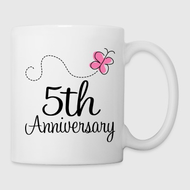 5th Wedding Anniversary Party - Coffee/Tea Mug