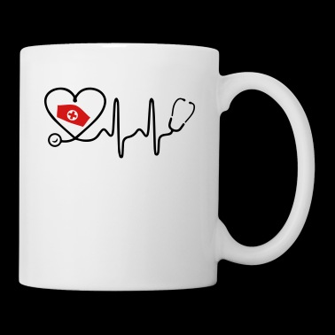 Heart Beat Nurse - Coffee/Tea Mug