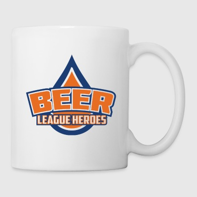 Beer League Heroes Logo - Coffee/Tea Mug