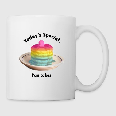 Pan cakes (black text) - Coffee/Tea Mug