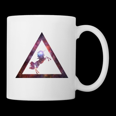 Galaxy Unicorn Triangle - Coffee/Tea Mug