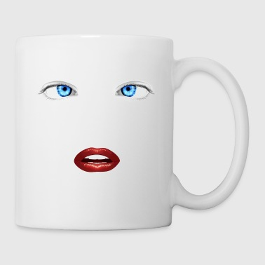 womanface - Coffee/Tea Mug