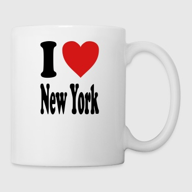 I love New York (variable colors!) - Coffee/Tea Mug