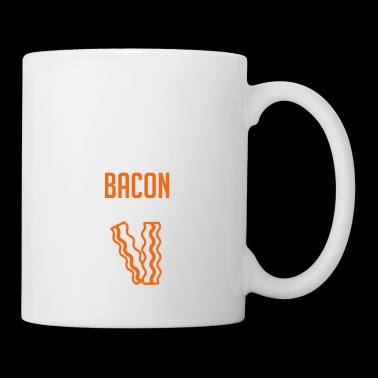 Bacon. Lover. Pig. Meat. Food. Breakfast. Quote - Coffee/Tea Mug