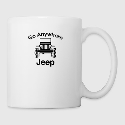 Jeep Go Anywhere - Coffee/Tea Mug