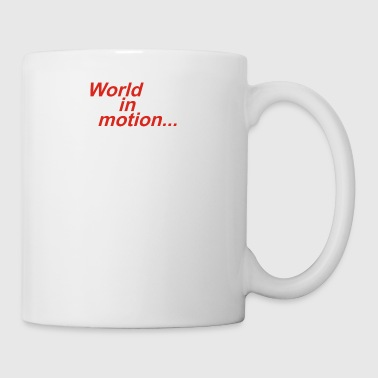 WORLD IN MOTION ENGLAND ITALIA 90 WORLD CUP FOOTBA - Coffee/Tea Mug